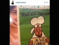FRANSA - CHP'li Tunç Soyer'in eşi Neptün Soyer'in Charlie Hebdo'nun skandal karikatürüne destek verdiği ortaya çıktı