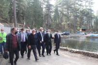 Dipsizgöl Tabiat Parkında Çalışmalar Devam Ediyor