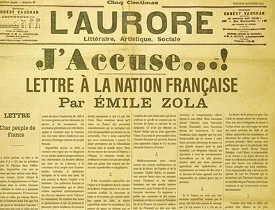 Emile Zola'nın sözleriyle yüklendi!