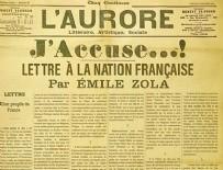 FRANSA - Emile Zola'nın sözleriyle yüklendi!