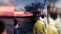 Kastamonu'da Kuma Oturan Balıkçı Teknesi Kurtarıldı