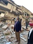 Başkan Arslan, İzmir'de Deprem Bölgesinde