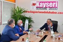 Başkanlardan Gazetelere 'Hayırlı Olsun' Ziyareti