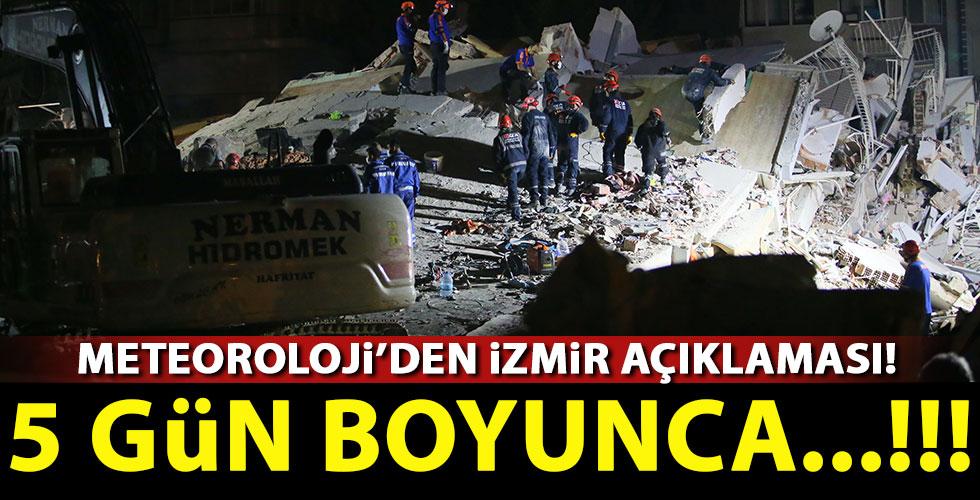 Meteoroloji'den İzmir için yağış açıklaması!