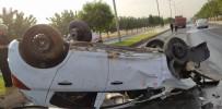 Otomobil İle Kamyon Çarpıştı Açıklaması 1 Yaralı