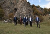 Vali Ayyıldız Düden Mağarasına Hayran Kaldı