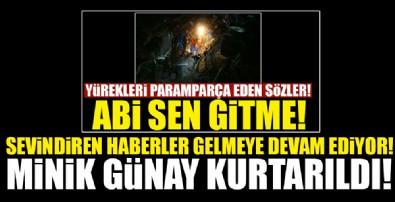 İzmir'de göçük altında kalan Günay, kurtarıldı