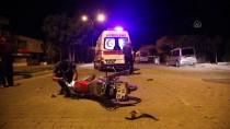 Adana'da İnşaat Molozlarına Çarpan Motosiklet Sürücüsü Yaralandı