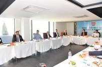 Başkan Yüksel, CHP İstanbul İl Başkanlığı'nın Toplantısına Katıldı