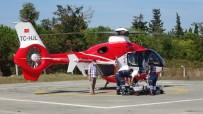 İnşaattan Düşen Şahsın Yardımına Ambulans Helikopter Yetişti
