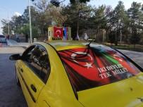 Taksici Esnafından Azerbaycan'a Destek