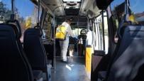 Tuzla'da Toplu Taşıma Araçları Dezenfekte Edildi