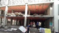 Burhaniye'de İnşaattan Düşen İşçi Yaralandı