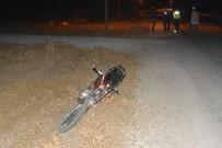 Ayvacık'ta Motosiklet Kazası Açıklaması 1 Yaralı