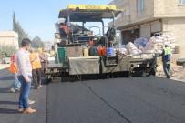Şanlıurfa Kırsalında Sıcak Asfalt Çalışması