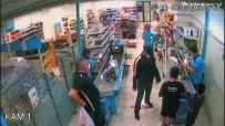 Tabancayla Market Soydu, Polisten Kaçamadı