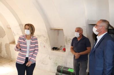 Vali Becel, Kadıncık Ana Evinin Restorasyonunu İnceledi