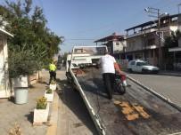 Burhaniye'de Polisten Motosiklet Denetimi
