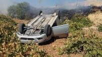 Mardin'de Otomobil Yüksek Gerilim Hattı Direğine Çarptı Açıklaması 1 Yaralı