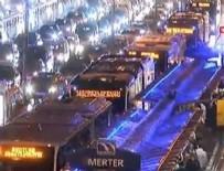 Merter'de metrobüs kaza yaptı!