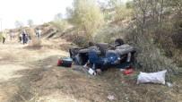 Yoldan Çıkarak 50 Metrelik Uçuruma Yuvarlandı Açıklaması 2 Yaralı