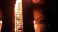 GÜNEY KORE - Gökdelende feci yangın!