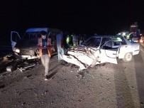 Günyüzü'nde Trafik Kazası, 1 Ölü 2 Yaralı
