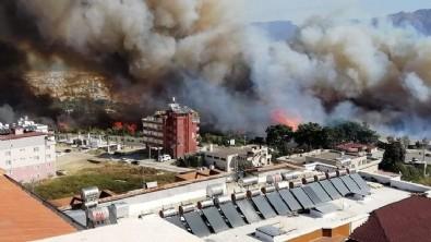 Hatay orman yangını son durum! Hatay'da orman yangını apartmanlara sıçradı