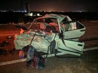 Manisa'da Tır İle Otomobil Çarpıştı Açıklaması 1 Ölü