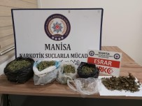 Manisa'da Uyuşturucu Operasyonu Açıklaması 2 Gözaltı