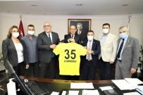 Müsavat Dervişoğlu'ndan Başkan Akın'a Ziyaret