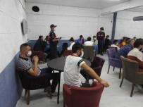 Nevşehir'de Jandarma Kumar Baskını Düzenledi