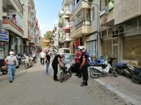 Polisten Kaçan Motosiklet Sürücüsü Kaza Yaptı