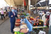 Salihli'de Üretici Pazarı Yeniden Açıldı