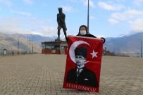 Artvin'de 97 Yaşındaki Erzade Nine Her 10 Kasım'da Atatürk'ün Huzurunda