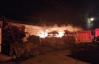 Çarşamba Sanayi Sitesi'nde Yangın