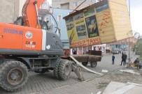 Ağrı Diyadin'deki Merkez Taksi Durakları Yenileniyor