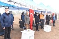 Dursunbey'de Yüzlerce Fidan Toprakla Buluştu