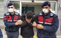 Jandarma Tarafından Uyuşturucuyla Yakalanan Genç Gözaltına Alındı