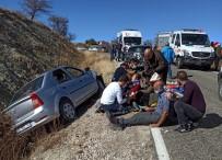 Tunceli'de Trafik Kazası Açıklaması 6  Yaralı