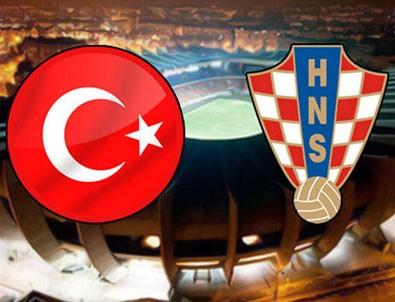 Türkiye - Hırvatistan | Maçta goller arka arkaya geldi!