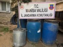Manisa'da 4 Bin 700 Litre Sahte İçki Ele Geçirildi