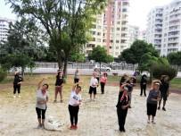 Seyhan'da 5 Ayrı Bölgede Sabah Sporu