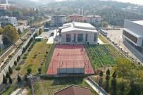 Gençlik Ve Spor Bakanlığından Manisa'ya Modern Tenis Kortları