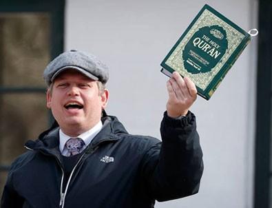Kur'an-ı Kerim yakmak isteyen Rasmus Paludan'a büyük şok!