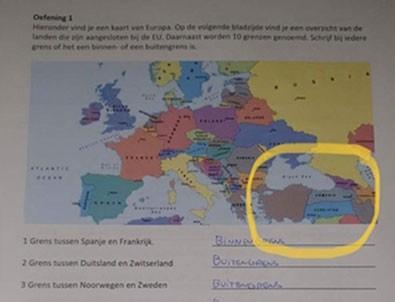 Hollanda'dan skandal harita!