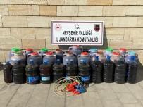 Nevşehir'de 930 Litre Kaçak İçki Ele Geçirildi
