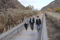 Tosya'da Beton Sulama Kanalı Yapımına Başlandı