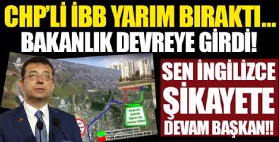 CHP'li İBB'nin yapmadığı yolları bakanlık ve ilçe belediyeleri yapıyor!