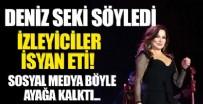 AHMET KAYA - Deniz Seki, İbo Show'da Ahmet Kaya'nın şarkısını seslendirdi! Sosyal medyadan tepki yağdı